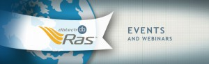 Upcoming Events and Webinars from dbtech Ras