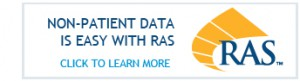 Non-patient data with RAS button